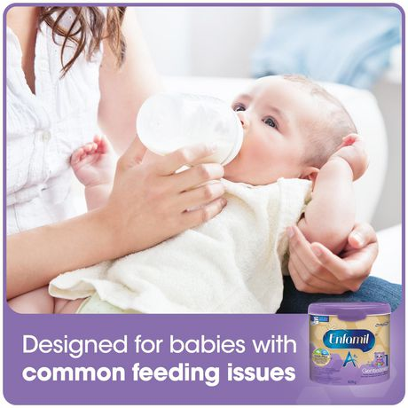 Enfamil A+ Gentlease Baby Formula, Ready to Feed Bottles, Nipple-Ready - image 4 of 6