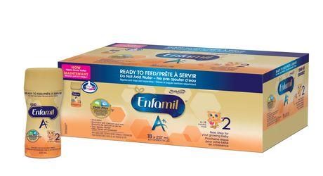 Préparation pour nourrissons Enfamil A+ 2, bouteille prête à servir et prête à utiliser la tétine - image 2 de 6