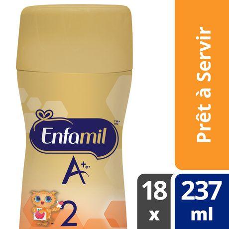 Préparation pour nourrissons Enfamil A+ 2, bouteille prête à servir et prête à utiliser la tétine - image 6 de 6
