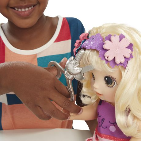 Baby Alive Snip 'n Style Baby - image 4 of 6