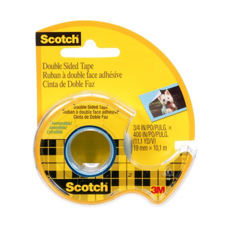 scotch removable double sided tape walmart canada. Black Bedroom Furniture Sets. Home Design Ideas