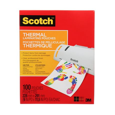 SCOTCH Thermal Laminating Pouches, 100/Pack, - image 5 of 5