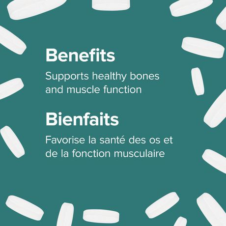 Webber Naturals® Magnesium, Enhanced  Absorption, 500 mg - image 3 of 4