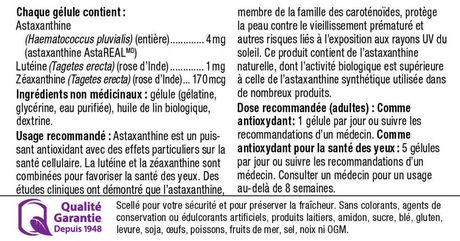 Webber Naturals Astaxanthin with Lutein and Zeaxanthin, 4 mg - image 4 of 4