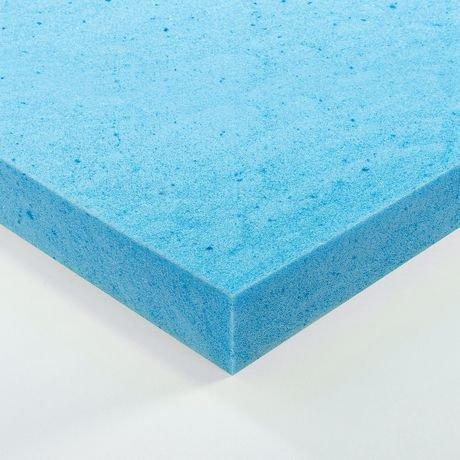 Zinus 2 Quot Gel Memory Foam Mattress Topper Walmart Canada