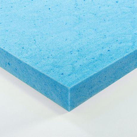 "Zinus 2"" Gel Memory Foam Mattress Topper - image 5 of 6"