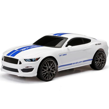 New Bright 1 12 Rc Chargers Shelby Gt 350 White Ford