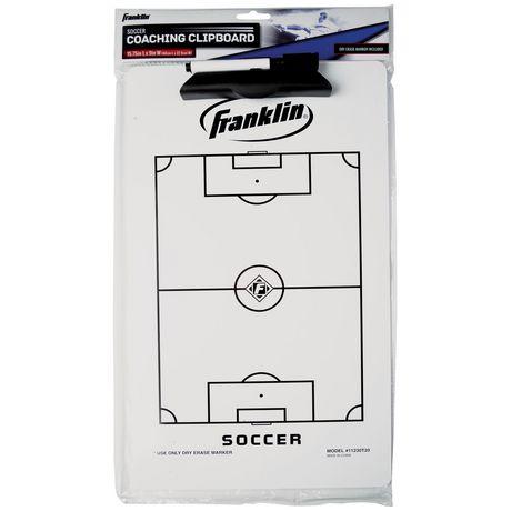 Planchette à pince de soccer Franklin Sports - image 1 de 1