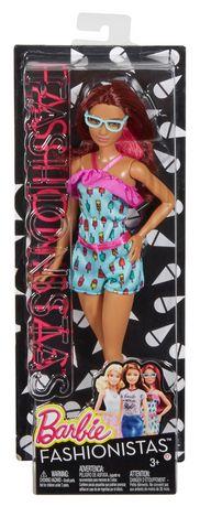 Barbie Fashionistas Doll-Ice Cream Romper Doll - image 5 of 9
