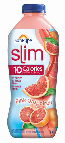 Boisson faible en calories Pamplemousse rose Slim SunRype - image 1 de 1