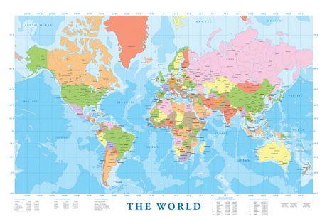 Canada Carte Du Monde.Carte Du Monde