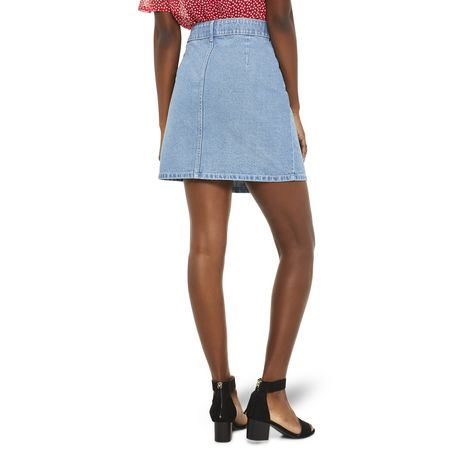 Mini-jupe en denim George pour femmes - image 3 de 6