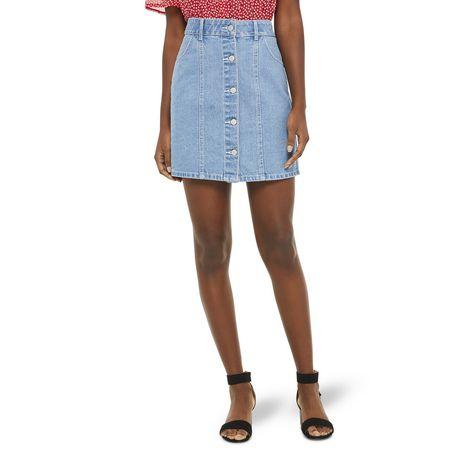 Mini-jupe en denim George pour femmes - image 1 de 6
