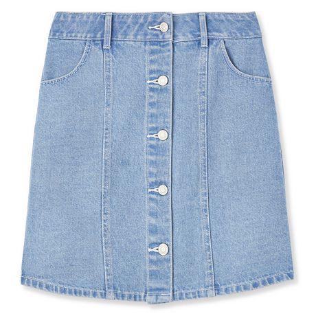 Mini-jupe en denim George pour femmes - image 6 de 6