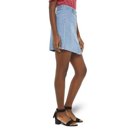 Mini-jupe en denim George pour femmes - image 2 de 6