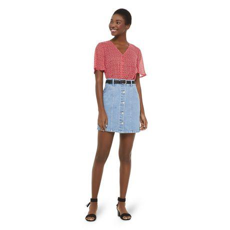 Mini-jupe en denim George pour femmes - image 5 de 6