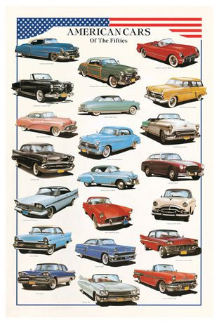 Eurographics American Cars of The Fifties - image 1 of 1