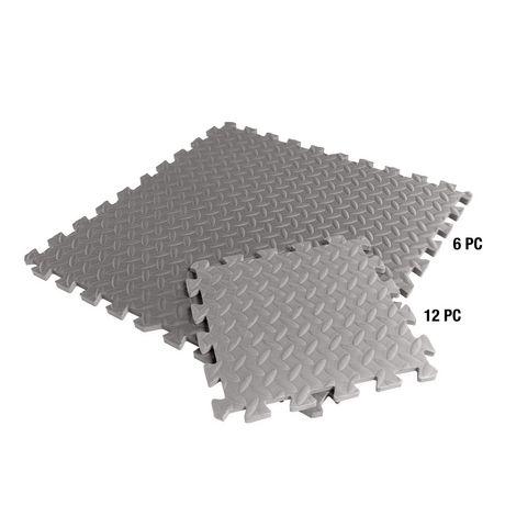 Cap Barbell Antimicrobial Foam Tile Puzzle Mat 12 Pieces