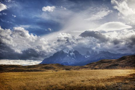 Eurographics Mountain Peaks And Open Fields - image 1 of 1