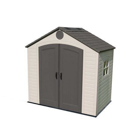 Lifetime 8 Ft. x 5 Ft. Outdoor Storage Shed 6406