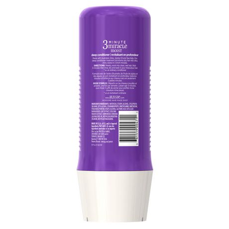 Aussie 3 Minute Miracle Moist Deep Conditioner - image 2 of 4