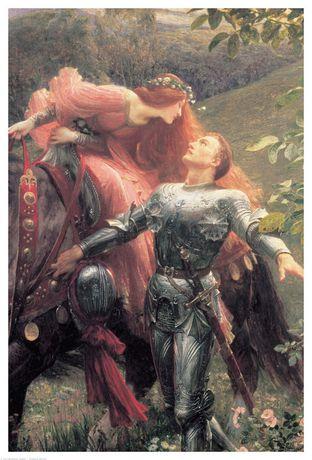 Eurographics Dicksee - La Belle Dame-detail - image 1 of 1