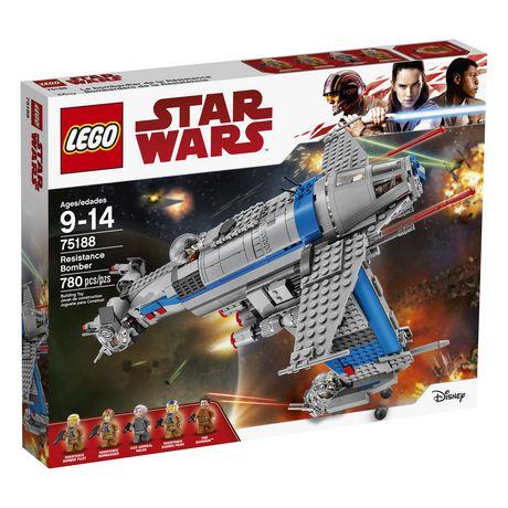 Lego Star Wars Tm Resistance Bomber 75188 Walmart Canada
