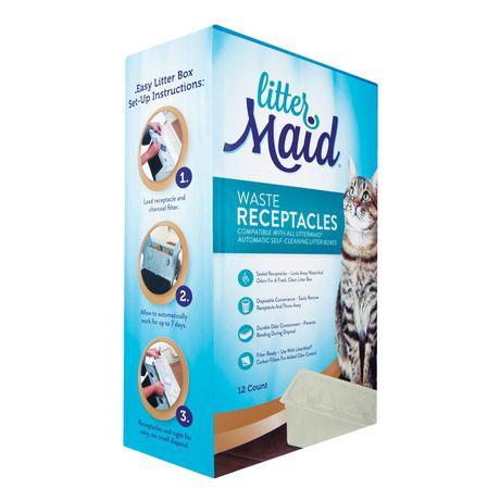Réceptacles de déchets de LitterMaid (Pack de 12) - image 2 de 7