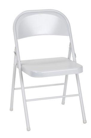 Miraculous Cosco Steel Folding Chair 4 Pack Machost Co Dining Chair Design Ideas Machostcouk