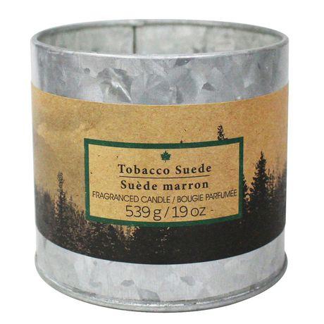 Bougie d'extérieur suède tabac parfumée - image 1 de 1