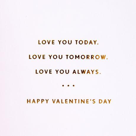 Hallmark Signature Valentine's Day Card (XOXO) - image 3 of 4