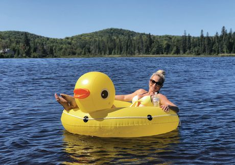 Pathfinder Yellow Duck Inflatable Float
