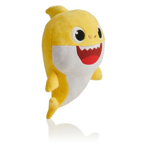 Official BABY SHARK Singing Plush Yellow Stuffed Animal WowWee Toy USA