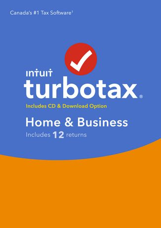 TurboTax Home & Business 2018, 12 returns, bilingual - image 1 of 3