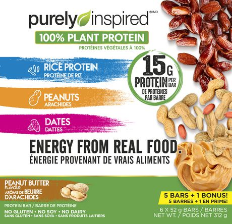 Purely Inspired Protein Bars, Peanut butter - image 1 of 4