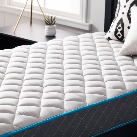 Lucid 7 Inch Bounder Innerspring Mattress with Quilted Fabric Cover - image 6 of 7