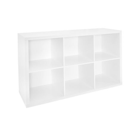 Closetmaid 6 Cube Organizer - White - image 1 of 3
