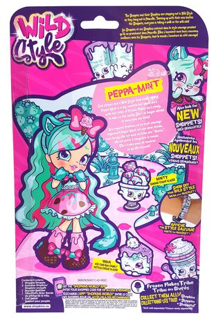 Shopkins Shoppies Wild Style S4 Peppa Mint - image 3 of 3