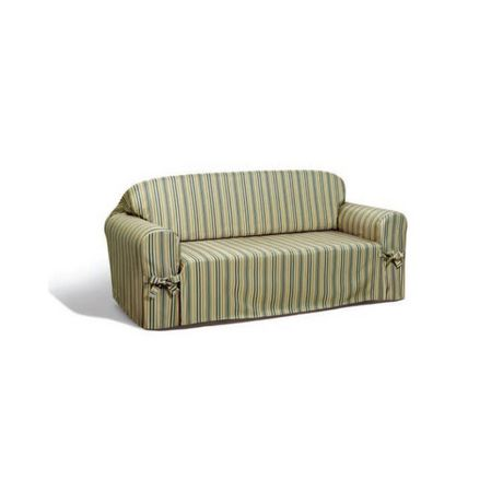 Housse pour causeuse rayures waverly stripe for Housse causeuse