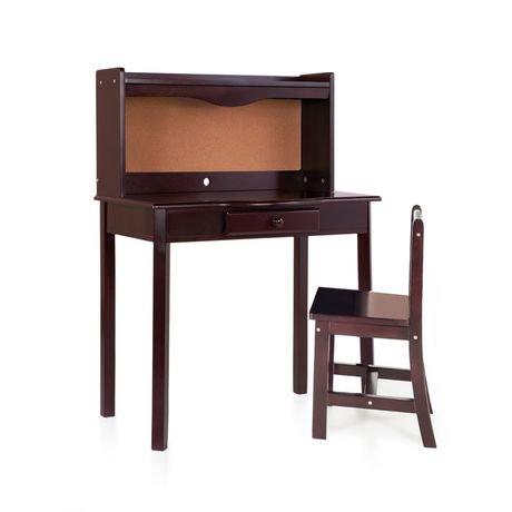 bureau classique guidecraft walmart canada. Black Bedroom Furniture Sets. Home Design Ideas