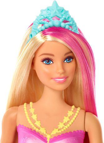 Barbie – Dreamtopia – Poupée Sirène Lumières Étincelantes, cheveux blonds - image 5 de 9