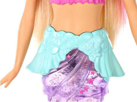 Barbie – Dreamtopia – Poupée Sirène Lumières Étincelantes, cheveux blonds - image 7 de 9
