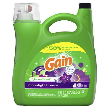 Gain Liquid Laundry Detergent, Moonlight Breeze - image 1 of 8