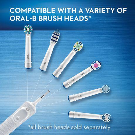 Brosse à dents électrique rechargeable Oral-B Vitality Floss Action - image 4 de 6