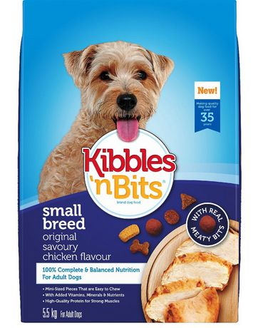 Kibbles 'n Bits Nourriture pour chiens pour chiens de petite race 5.5kg - image 2 de 2