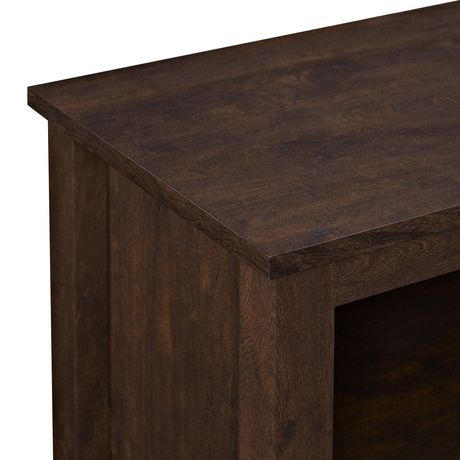 """Manor Park 58"""" Wood TV Media Stand Storage Console - Traditional Brown - image 3 of 7"""