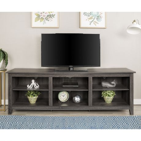 """Manor Park Minimal Farmhouse TV Stand for TV's up to 78""""- Multiple Finishes - image 2 of 7"""