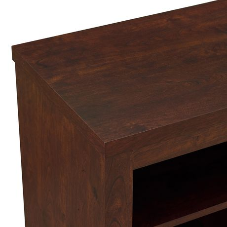 """Manor Park Rustic Fireplace TV Stand with Open Storage For TV's up to 56"""" - Brown - image 4 of 4"""