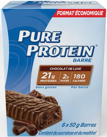 Pure Protein Gluten Free Chocolate Deluxe Bars - image 2 of 4