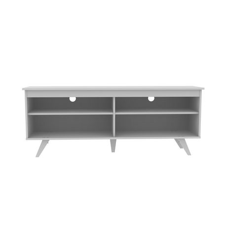 "Manor Park 58"" Wood Simple Contemporary Console - White - image 1 of 6"